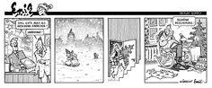 "Emil - Christmas present:  ""Shall I wrap it as a Christmas present?"" ""Absolutely!"" ...  ""Merry Christmas!"" ... wishes Emil. - @Detlef Surrey - http://surrey.de/galerien/bilder-galerie/kategorie/emil-comic-strips-1984-87"