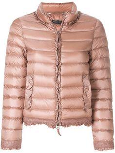 Twinset Women Down Jacket on YOOX. The best online selection of Down Jackets Twinset. Slim Fit Jackets, Jackets For Women, Puffer Jackets, Winter Jackets, Outerwear Jackets, Pink Jacket, Padded Jacket, Sportswear Brand, Coat