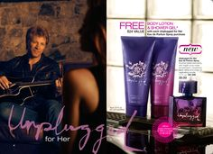 free body lotion and shower gel with each Unplugged for Her Eau de Parfum Spray purchase.