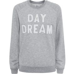 Zoe Karssen Day Dream Sweater ($185) ❤ liked on Polyvore featuring tops, sweaters, shirts, sweatshirts, white leather top, quilted shirt, heather grey shirt, white jersey shirt and white top