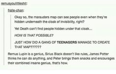 It's not that the Marauders were geniuses (they were). It's that the invisibility cloak is made from Death himself, and THAT'S why Death can't find people under the cloak.