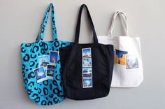 How to Make Snappy Photo Totes via Brit + Co. #totes @Brit Morin