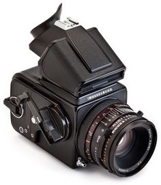 Hasselblad 500 CM Medium Format SLR Film Camera with 80mm Lens (really want one of these)