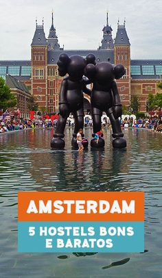 Onde ficar em Amsterdam: 5 hostels bons e baratos #amsterdam #holanda Eurotrip, Hostels, Van Gogh Museum, Red Light District, Madame Tussauds, Netherlands, Holland, The Good Place, Cool Pictures