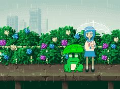 chxxxtn:    Japanese-daily-life pixel arts.  Credit : @1041uuu Didnt imagine that their life could feel so isolated and transmit many emotions with pixels at the same time.