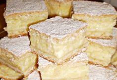 Ez a hamis krémtúrós recept eddig senkinek nem okozott csalódást Hungarian Desserts, Hungarian Recipes, No Bake Desserts, Dessert Recipes, Salty Snacks, Baking And Pastry, Sweet And Salty, Homemade Cakes, Food And Drink