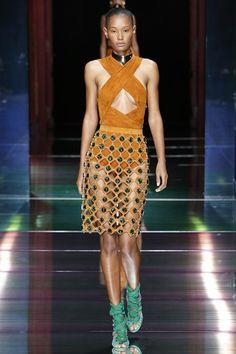 Balmain Spring/Summer 2016 SS16 Ready To Wear Paris Fashion Week #PFW