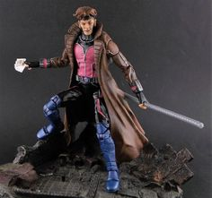 Gambit (Marvel Legends) Custom Action Figure by Shinobitron Base figure: Ant Man
