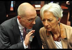 Tackling the Greek Crisis in a Bold Printed Scarf - In Photos: Christine Lagarde's Power Dressing - Forbes