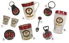 Hello to our new Clan Crest Products!