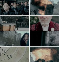 I was watching you, Mockingjay. And you were watching me. #thg