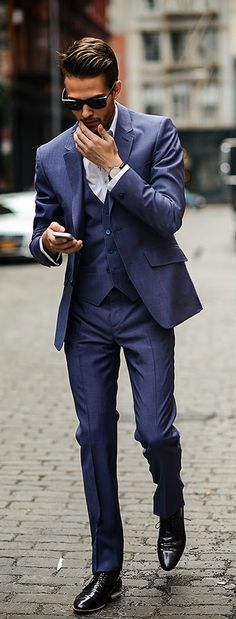 Ted Baker Suit | Via iamgalla.com