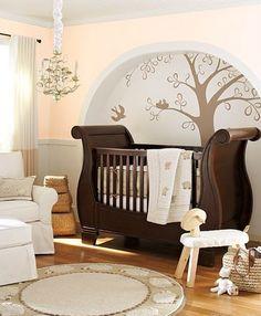 That crib is GORGEOUS!