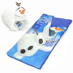 Disney Frozen Olaf Slumber Set 2 Piece Multicolor Size 30 x 54 >>> Check out the image by visiting the link.