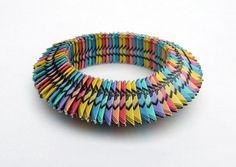 monopoly money bracelet by Liz Hamman Paper Jewelery Artist