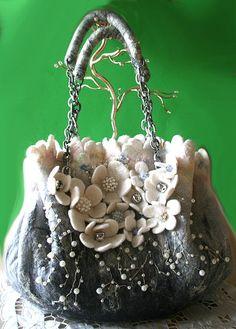 Женские сумки ручной работы. Ярмарка Мастеров - ручная работа серебряный бриз. Handmade.