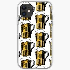 'Cold Beer' iPhone Case by Beer-Bones Best Beer, Iphone Case Covers, Cover Design, Iphone 11, Bones, Cold, Printed, Awesome, Products