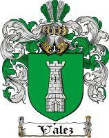 Velez Coat of Arms / Velez Family Crest