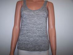 Rag & Bone Size Small Gray Color Sleeveless Top  #ragbone #TankCami #Casual