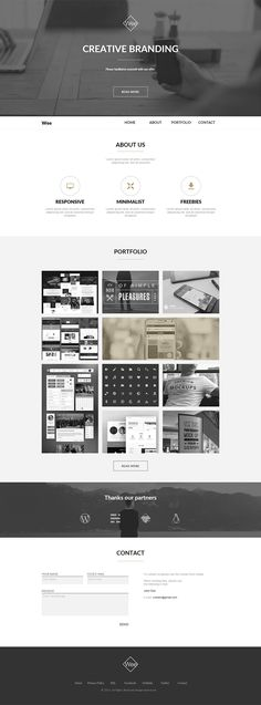 Wee One Page Muse Template by ShakeDesign on Creative Market