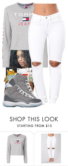 """""""Insecure~Jazmine Sullivan"""" by her-niya on Polyvore featuring Tommy Hilfiger and NIKE"""