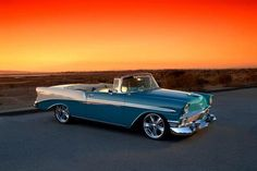 '56 Chevy convertible