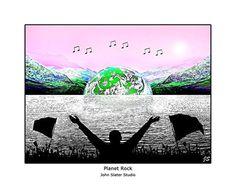 Planet Rock © John Slater Studio