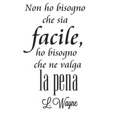 ho bisogno avere espressioni vale la pena Motivational Phrases, Inspirational Quotes, Message In A Bottle, Printable Quotes, More Than Words, Brush Lettering, Sentences, Quotations, Me Quotes