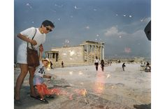 Martin Parr | Acropolis Now, Water damaged prints from 1991