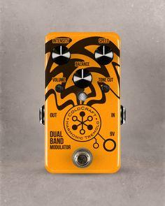 Coldcraft harmonic tremolo pedal