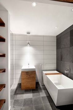 NatureHumaine reworked a residential two storey duplex situated in Montreal, Canada proper right into a single dwelling unit by completely reorganizin... - #architecture #Ave #canada #design #eighth #home #house #interior #interior-design #interiordesign #montreal #naturehumaine #quebec #residence #homedecor