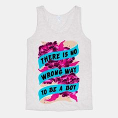 There is no wrong way to be a boy