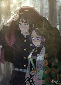 Kimetsu no Yaiba / Demon Slayer Demon Slayer, Slayer Anime, Anime Demon, Manga Anime, Anime Love Story, Anime Lindo, Fan Art, Animes Wallpapers, Anime Ships