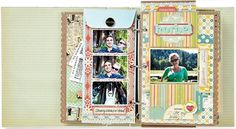 7 tips for travel mini albums...particularly love these long envelopes added in.