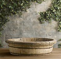 Vintage Tea Harvest Bowl | Urns & Bowls | Restoration Hardware