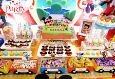 Mickey Mouse Clubhouse Birthday Party Ideas | Photo 1 of 23 | Catch My Party