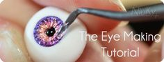 An excellent BJD eye making tutorial.  This page links to each page of the tutorial in the description.