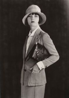 Louise Brooks / Meeker Made Handbags, 1928
