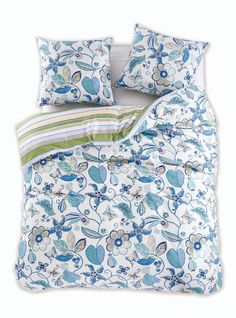 Pościel Bawełniana - Diamond - Floral 200x220 + 80x80*2 cm - Dommania.pl Comforters, Blanket, Bed, Home, Creature Comforts, Quilts, Stream Bed, Ad Home, Blankets