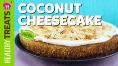 Healthy Coconut Cheesecake Recipe - Sugar Free, Low Carb, Gluten Free