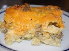 Make-Ahead Christmas Morning Breakfast Casserole
