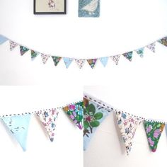 Maybe we could put the names of our zines on small bunting to hang in front of our table?