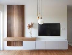 Living Room Interior, Home Living Room, Living Room Decor, Narrow Living Room, Home Room Design, Home Interior Design, Luxury Kitchen Design, Modern Tv Room, Modern Hotel Room