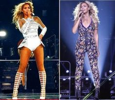 Beyonce in David Koma & Emilio Pucci for her 'Mrs. Carter Show' World Tour