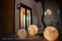 Acon Studio/LUNA:月型ライト。