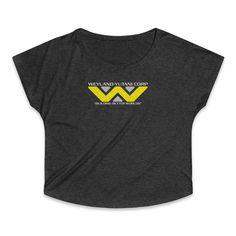 Weyland Yutani Building Better Worlds Women's Tri-Blend Dolman T-Shirt Worlds Of Fun, Sweatshirts, Fabric, Sweaters, Cotton, T Shirt, Building, Fashion, Tejido