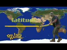 Longitude and Latitude - great video clip!