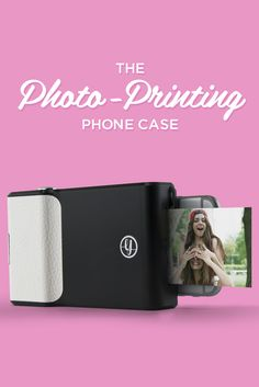Prynt is the first ever photo-printing case for your phone, and it's finally available!