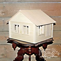 Купить Макет дома - золотой, макет дома, макет, миниатюра дома, макет загородного дома