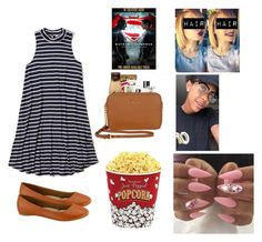 """Going to the movies with Devontae📽🎞❤️🔐"" by kaelynjones05 ❤ liked on Polyvore featuring Hollister Co., CC, Chanel, Michael Kors, West Bend and Ultimate"